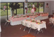 Party Decorations with Rectangle Tables