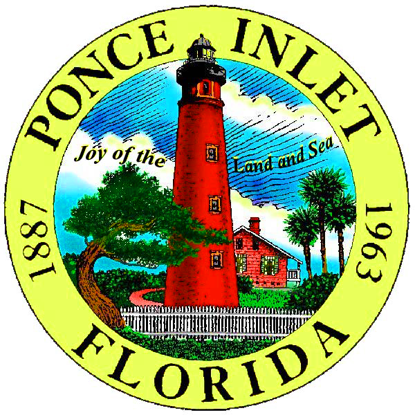 Ponce Inlet Town Logo adopted 2013 png