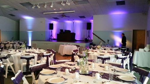 Purple Event Decorations